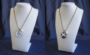 Thistle and Cross Pendant