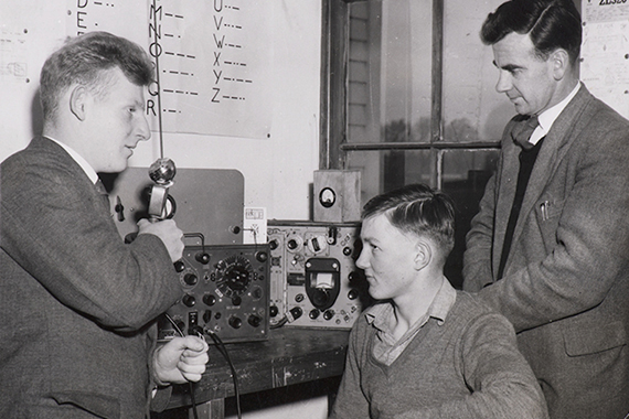 StAC Beginning of the Radio Club 1941 1